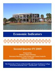 2nd Quarter, FY 2009 - The University of Texas at Brownsville