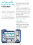 for R&S®ETC Compact TV Analyzer - Rohde & Schwarz - Page 2