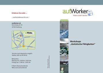Workshop Autistische Fähigkeiten - autWorker