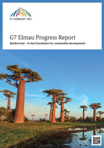 G7-Elmau-Progress-Report-2015-Biodiversity-A-vital-foundation-for-sustainable-development