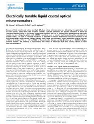 Electrically tunable liquid crystal optical ... - ResearchGate