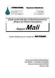 Rapport Mali - ACT - Advanced Communication Technologies