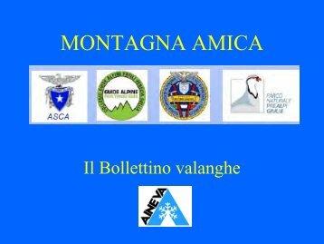 Bollettino valanghe - Parco Naturale delle Prealpi Giulie