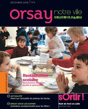 Orsay, notre ville - n°4 décembre