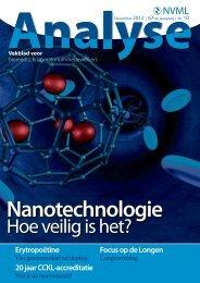 Nanotechnologie - Nederlandse Vereniging van bioMedisch ...