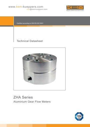 ZHA Series - Cross Technical Services