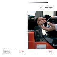 MIETPREISLISTE 2011 - Toyota Material Handling  Deutschland