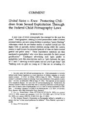 United States v. Knox: Protecting Children from Sexual Exploitation ...