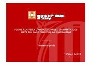 Informe de gestió - Premsa - Generalitat de Catalunya