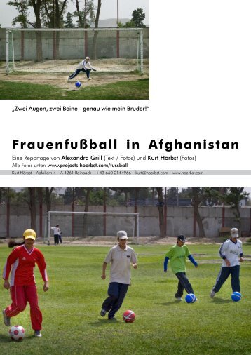 Frauenfußball in Afghanistan