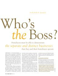 Who's the Boss? - Davis Wright Tremaine