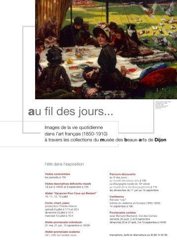 au fil des jours... - Musée des beaux-arts de Dijon - Ville de Dijon