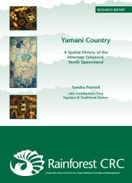 Yamani Country - Rainforest Cooperative Research Centre - James ...