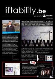 Zie de newsletter - Liftability