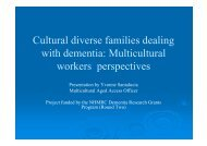 Multicultural workers perspectives