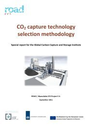 CO2 capture technology selection methodology - Global CCS Institute