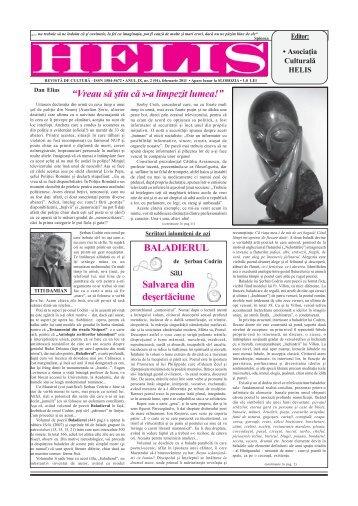 Helis februarie 2011.pmd - Revista HELIS