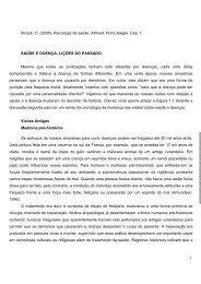 Texto Complementar 1.2. Straub - Saude e doença