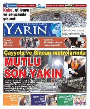 Ankara 12 Haziran 2013