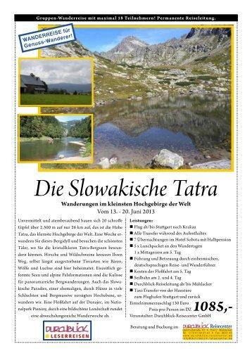 Informationen zu dieser Reise können Sie hier als pdf ... - Durchblick