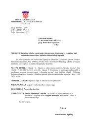 22. Prijedlog odluke o osnivanju i imenovanju Povjerenstva za ...