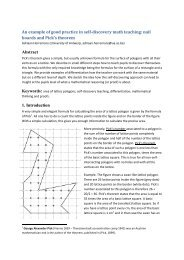 nail boards and Pick's theorem Abstract 1. Introduction