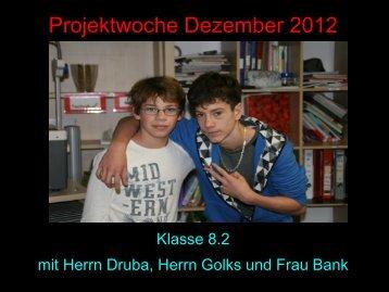 Foto-Comic der Projektwoche 2012 - Paula Fürst Schule