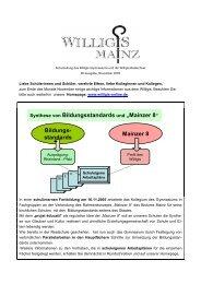 Mainzer 8 - Bischöfliches Willigis Mainz