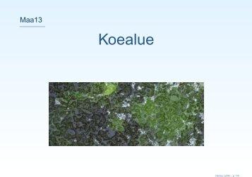 Koealue - Lahti