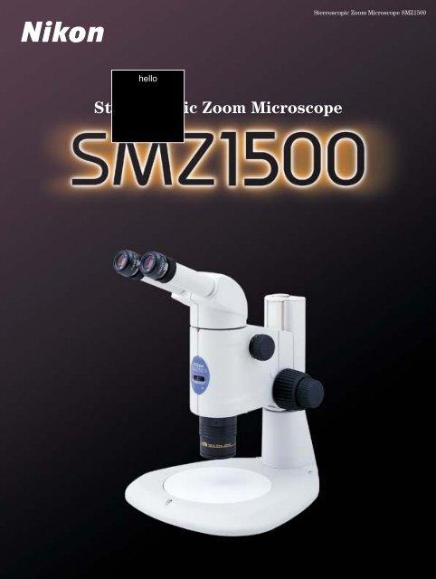 Stereoscopic Zoom Microscope - Excel Technologies, Inc
