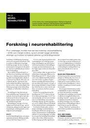 [pdf] Forskning i neurorehabilitering