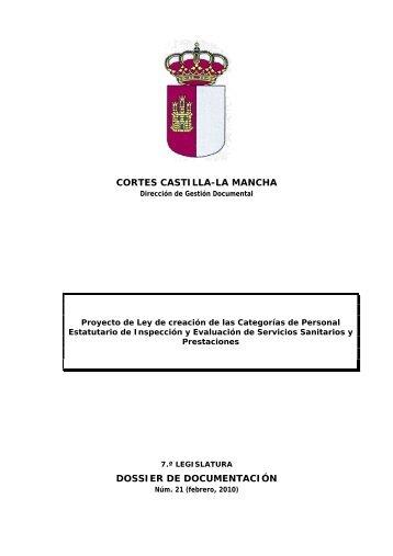 Dossier núm. 21. Proyecto de Ley de creación de las Categorías de ...