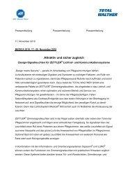 Attraktiv und sicher zugleich - TOTAL WALTHER GmbH