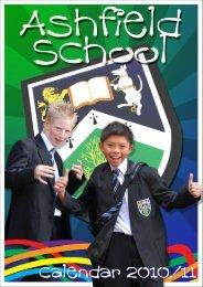 calendar cover 2010-11.psd - Ashfield School