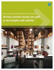 Driving customer loyalty and sales - Brochure to new ... - Barcom Inc.