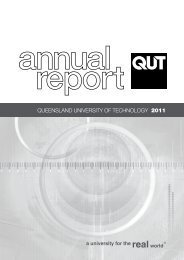 Queensland University of Technology 2011 Annual Report - QUT