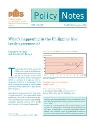 What's Happening in the Philippine Free Trade Agreements?