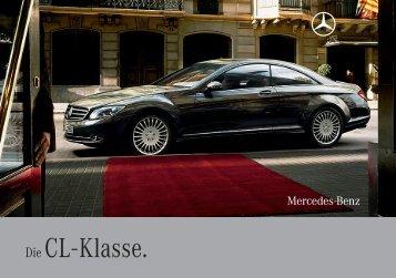 Die CL - Klasse. - Mercedes-Benz Latvija
