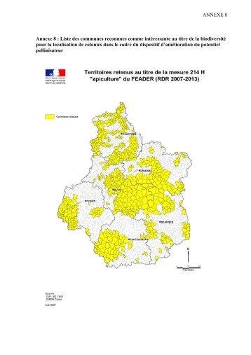 anx8-dispositifH-liste communes-2009-RC