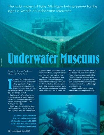OutdoorIllinois June 2006 Underwater Museums ... - Illinois DNR