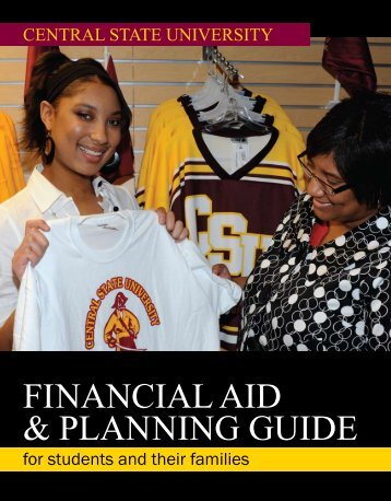 FINANCIAL AID & PLANNING GUIDE - Central State University