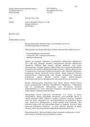 Pöytäkirja - Kepa.fi