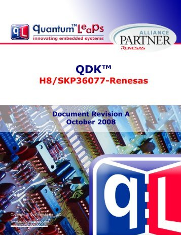 QDK H8/SKP36077-Renesas - Quantum Leaps