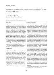 Segunda época / Número 39 / 2009 - Publicaciones - Universidad ...