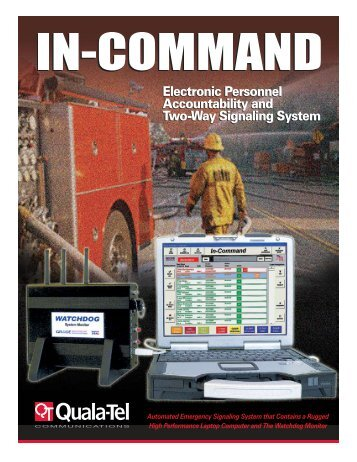 Electronic Personnel Accountability and Two-Way ... - Quala-Tel