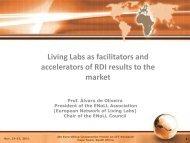 Living Labs - EuroAfrica-ICT