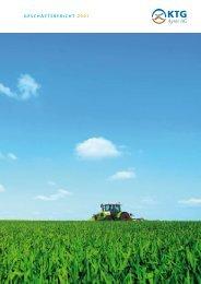 Geschäftsbericht 2007 - KTG Agrar AG