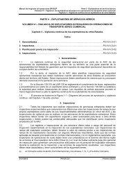 parte ii – explotadores de servicios aéreos volumen vi ... - ICAO