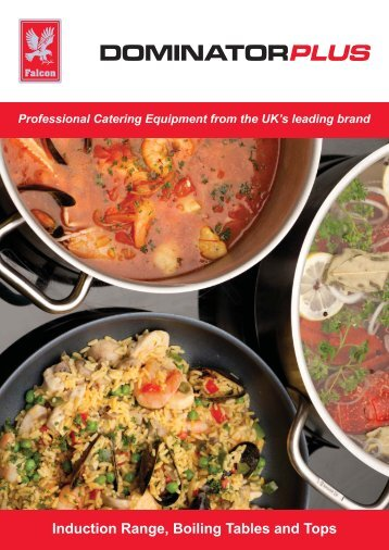 Induction Range, Boiling Tables and Boiling Tops