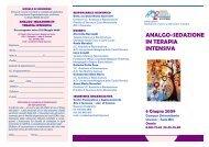 analgo-sedazione in terapia intensiva - Azienda Sanitaria Locale n ...